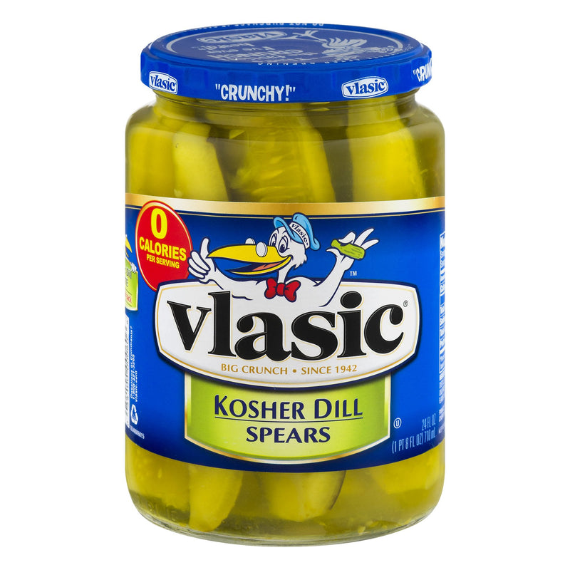 Vlasic Kosher Dill Pickle Spears 710ml