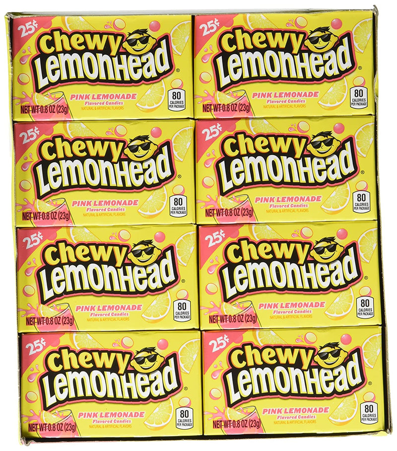 Chewy Lemonhead Pink Lemonade Candy 23g