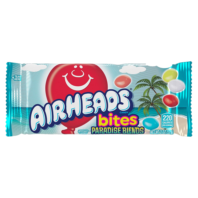 Airheads Paradie Blends Bites Candy 57g