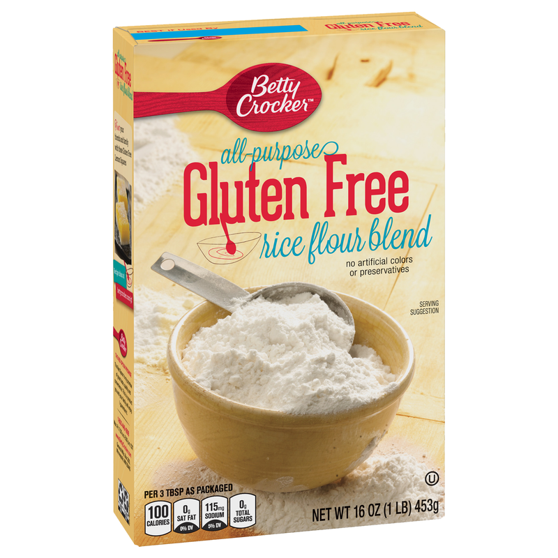 Betty Crocker All Purpose Gluten Free Rice Flour Blend 453g
