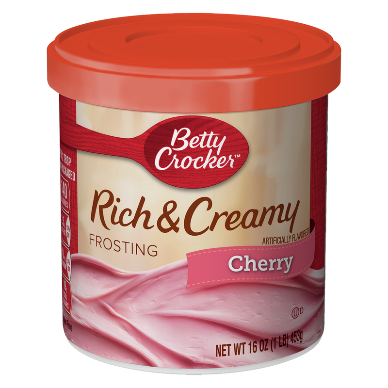 Betty Crocker Rich & Creamy Cherry Frosting 453g