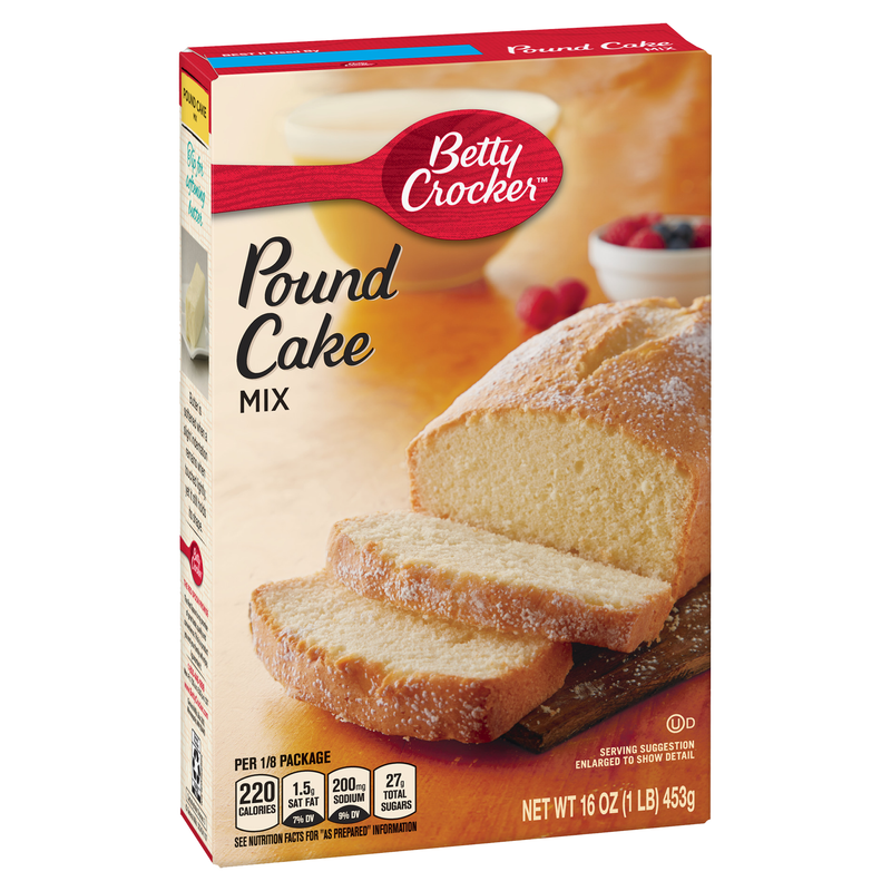 Betty Crocker Pound Cake Mix 453g