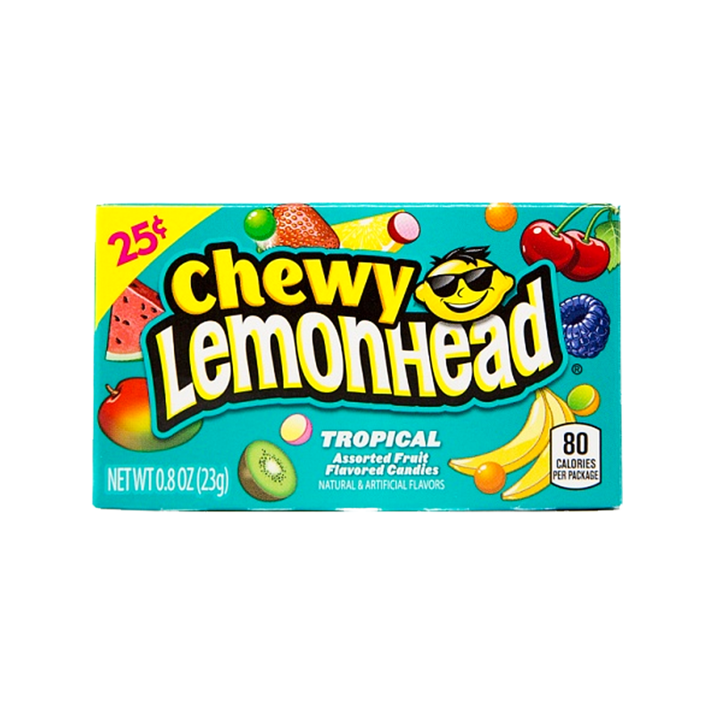 Chewy Lemonhead Tropical Candy 23g