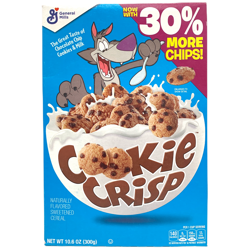 General Mills Cookie Crisp Breakfast Cereal 300g (BBD 09/04/21)CLEARANCE