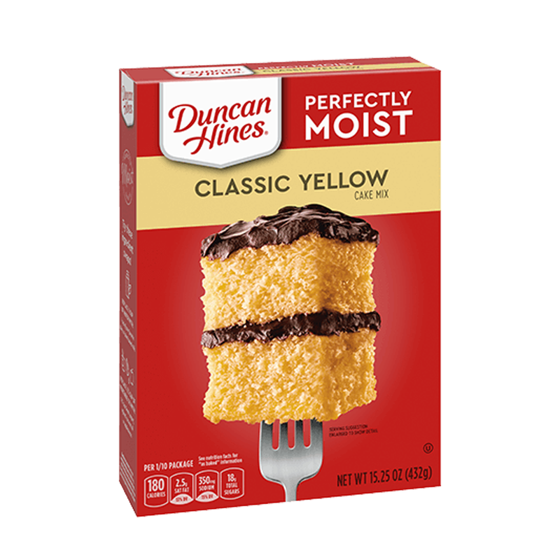 Duncan Hines Classic Yellow Cake Mix 432g