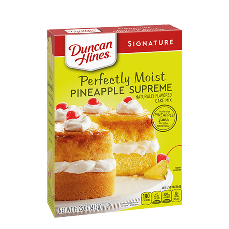 Duncan Hines Signature Pineapple Cake Mix 432g