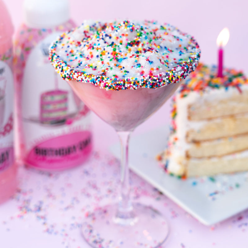Skinny Sugar Free Birthday Cake Syrup 750ml