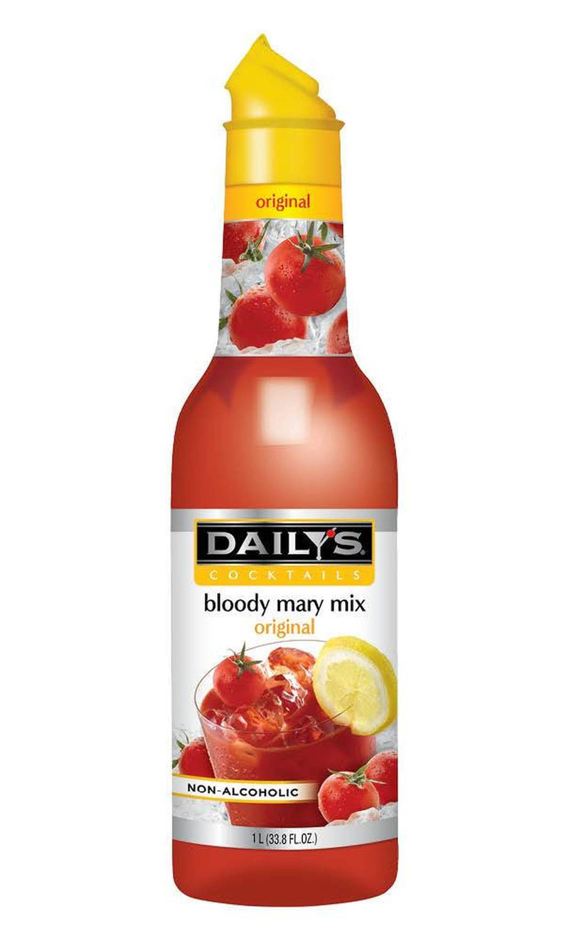 Daily's® Cocktails Non-Alcoholic Original Bloody Mary Mix 1Ltr