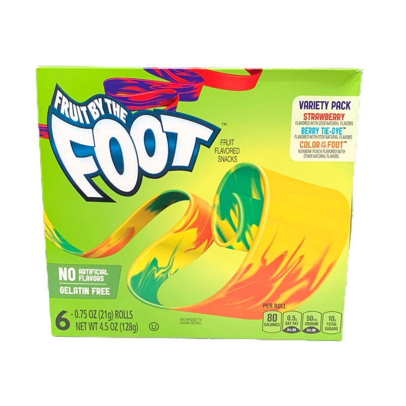 Fruit by the Foot Variety Pack Fruit Flavoured Snacks 128g
