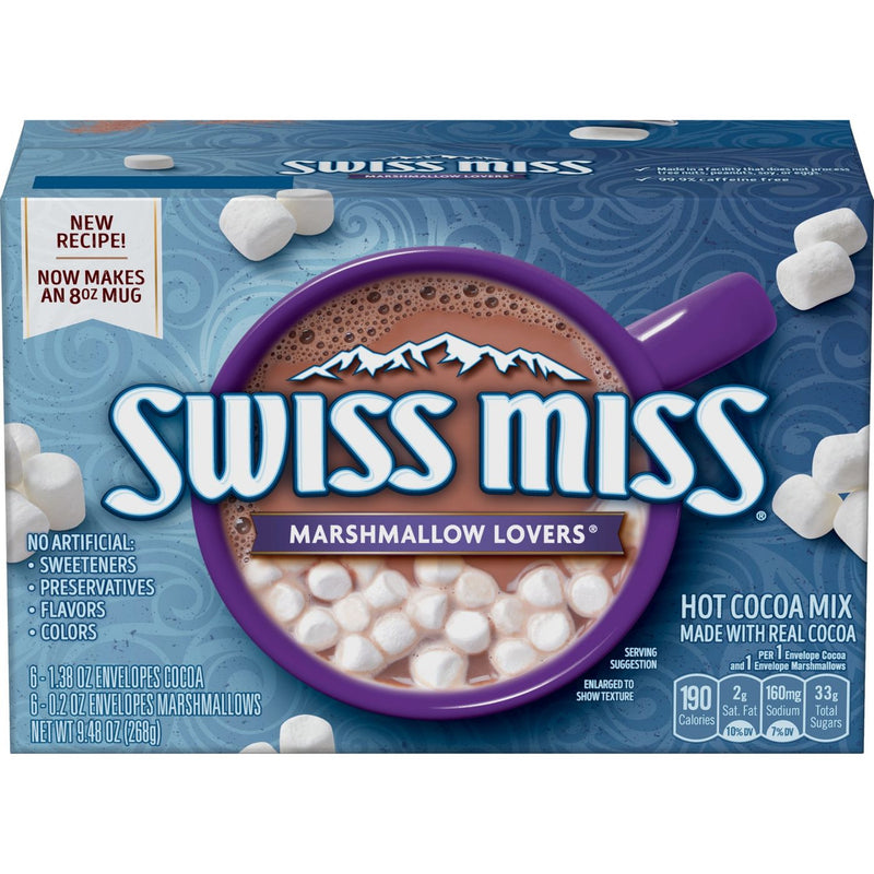 Swiss Miss Marshmallow Lovers Hot Cocoa Mix 268g