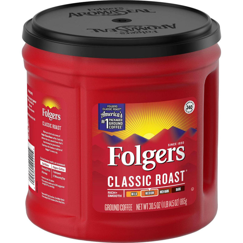 Folgers Classic Medium Roast Ground Coffee