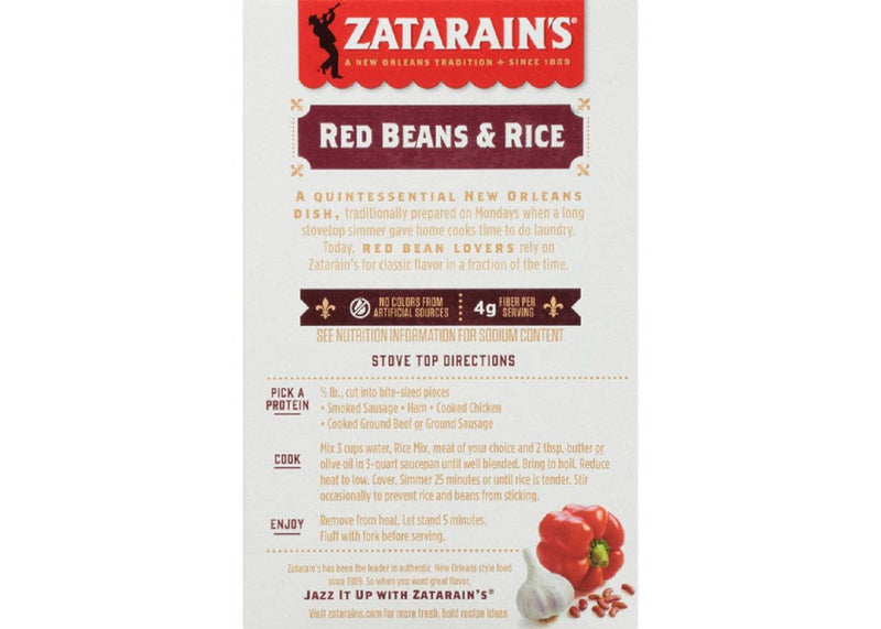 Zatarain's Red Beans and Rice Mix 226g