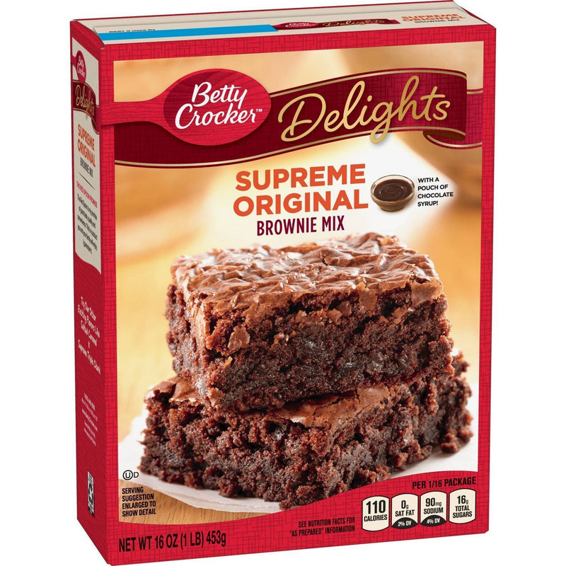 Betty Crocker Supreme Original Brownie Mix 453g