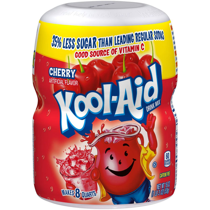 Kool-Aid Cherry Soft Drink Mix 538g