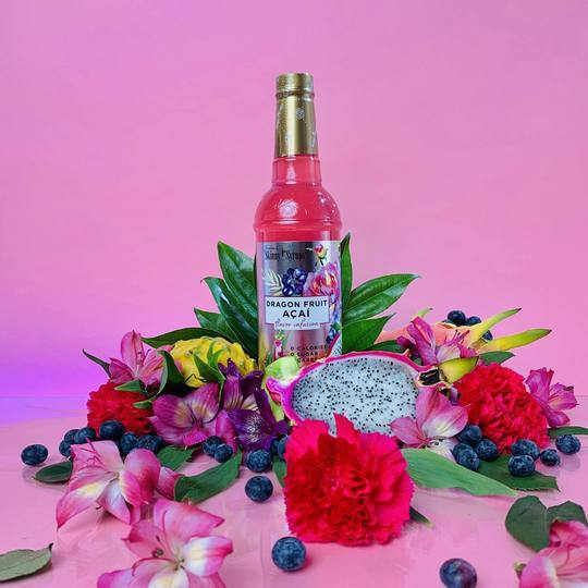 Skinny Sugar Free Dragon Fruit Acai Syrup 750ml