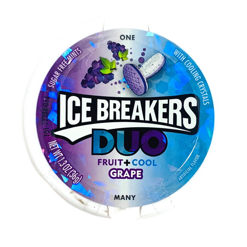 Ice Breakers Duo Grape Sugar Free Mints 36g
