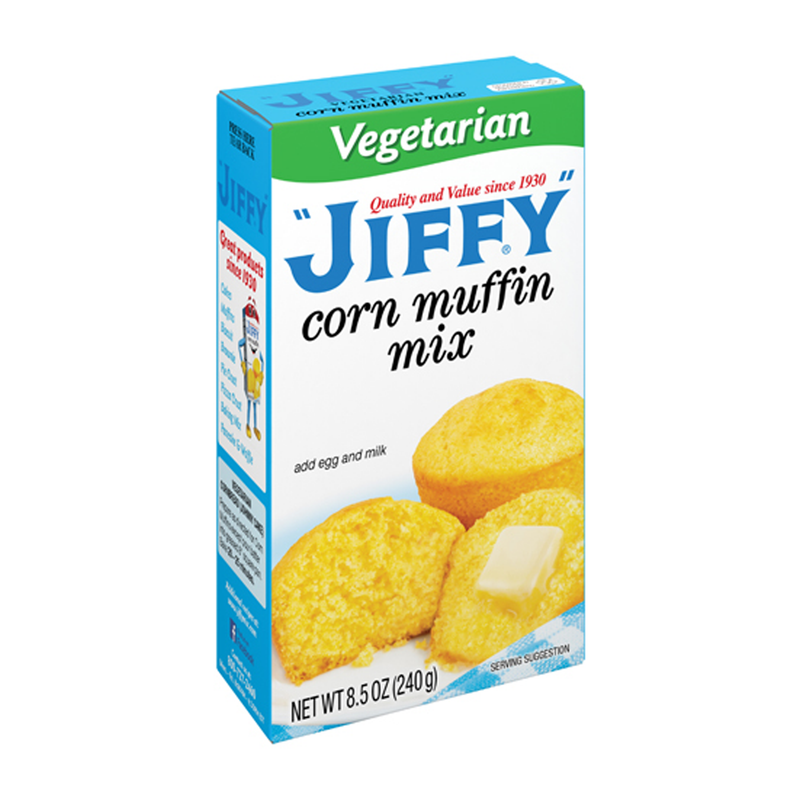 Jiffy Vegetarian Corn Muffin Mix 240g