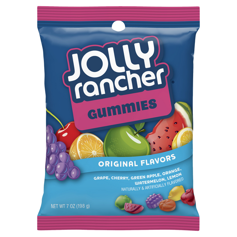 Jolly Rancher Gummies Original Flavours Candy 141g