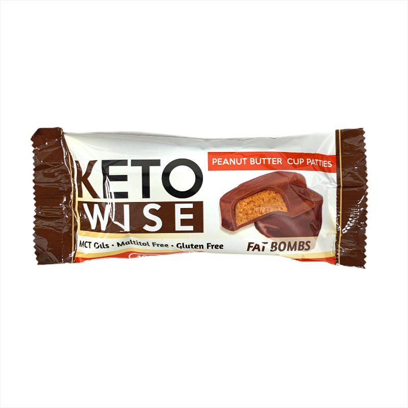 Keto Wise Peanut Butter Pattie Fat Bombs 32g