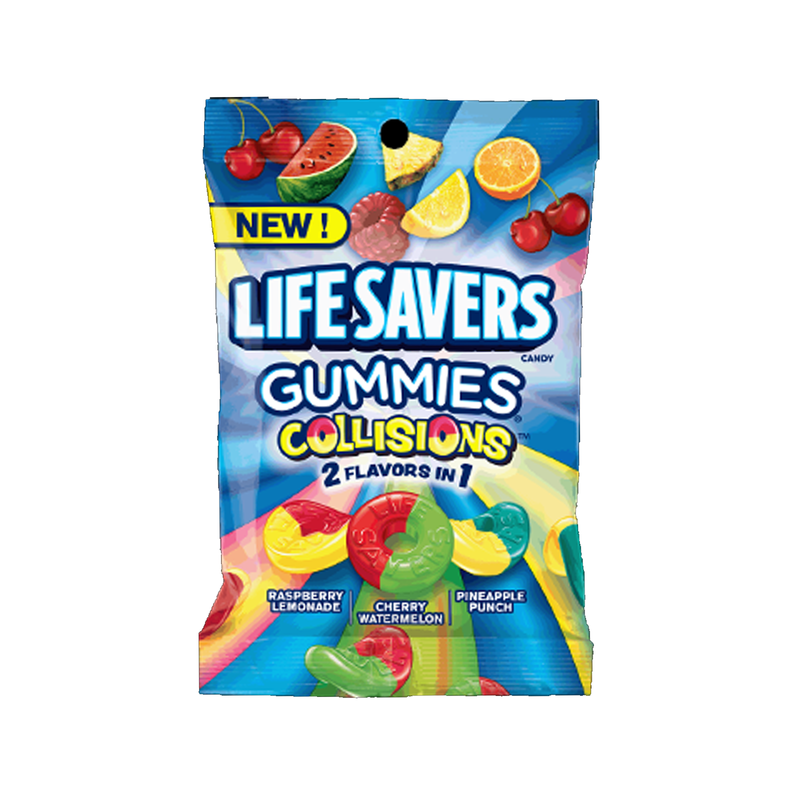 Life Savers Collision Gummies Candy 198g