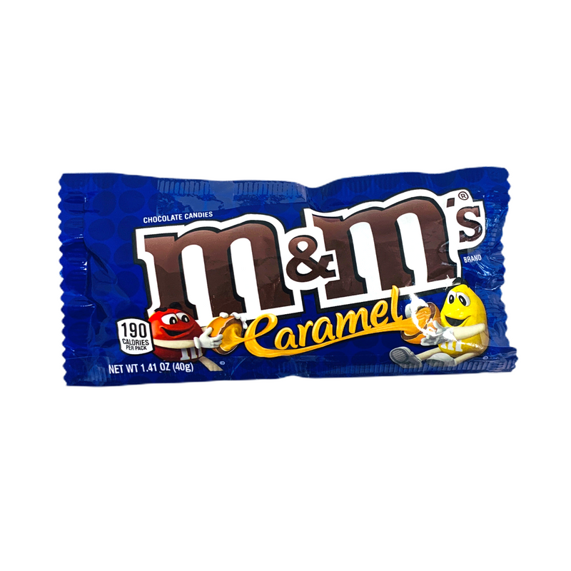 M&M's Caramel Chocolate Candies 40g