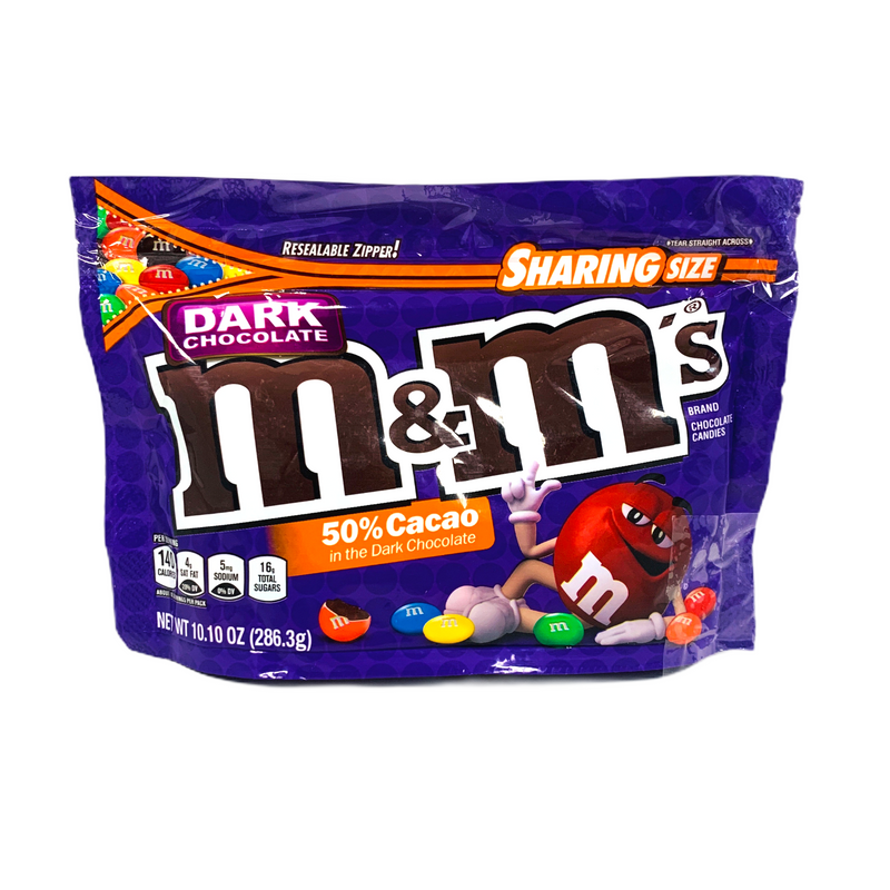M&M's Dark Chocolate Candy 286.3g