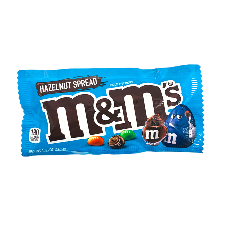 M&M's Hazelnut Spread Chocolate Candies 38.3g