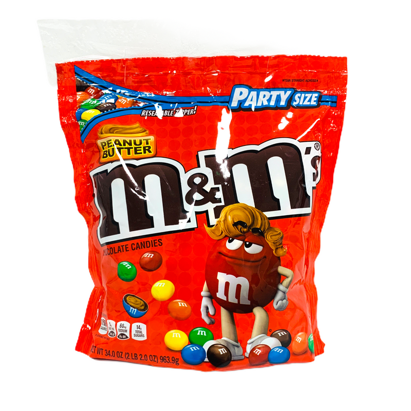 M&M's Peanut Butter Chocolate Candy 963.9g