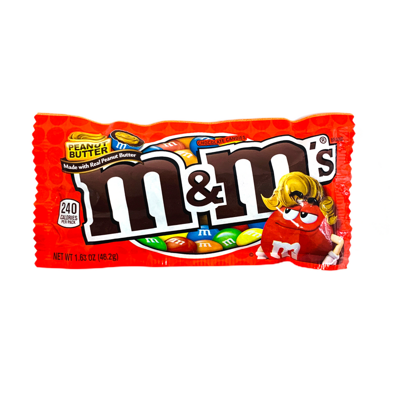 M&M's Peanut Butter Chocolate Candies 46.2g