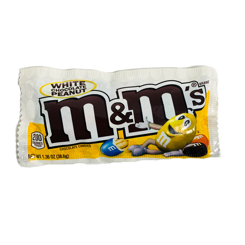 M&M's White Chocolate Peanut Candies 38.6g
