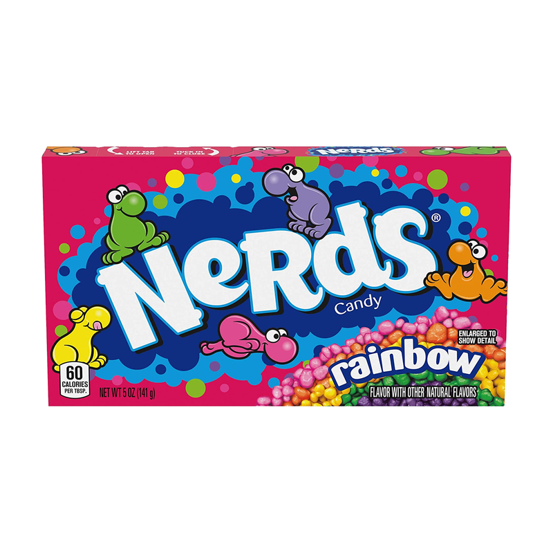 Nerds Rainbow Candy Theatre Box 141g