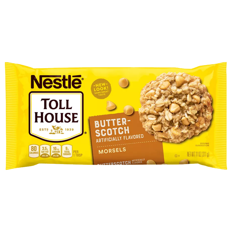 Nestle Toll House Butterscotch Flavoured Morsel 311g
