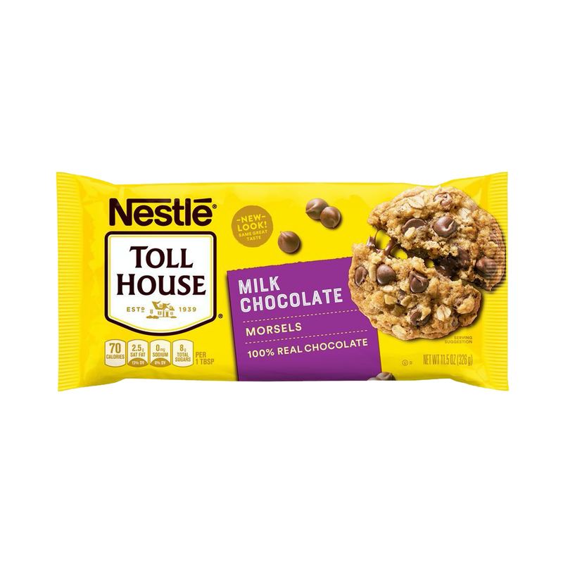 Nestle Toll House Real Milk Chocolate Chip Morsels 326g