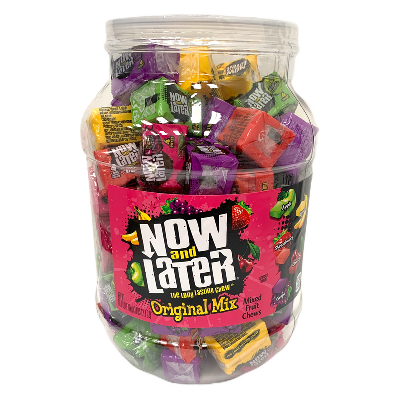 Now and Later Original Mixed Fruit Chews 1.72kg