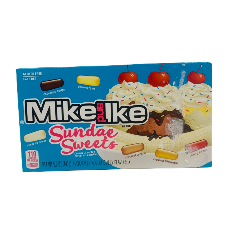 Mike and Ike Sundae Sweets 141g