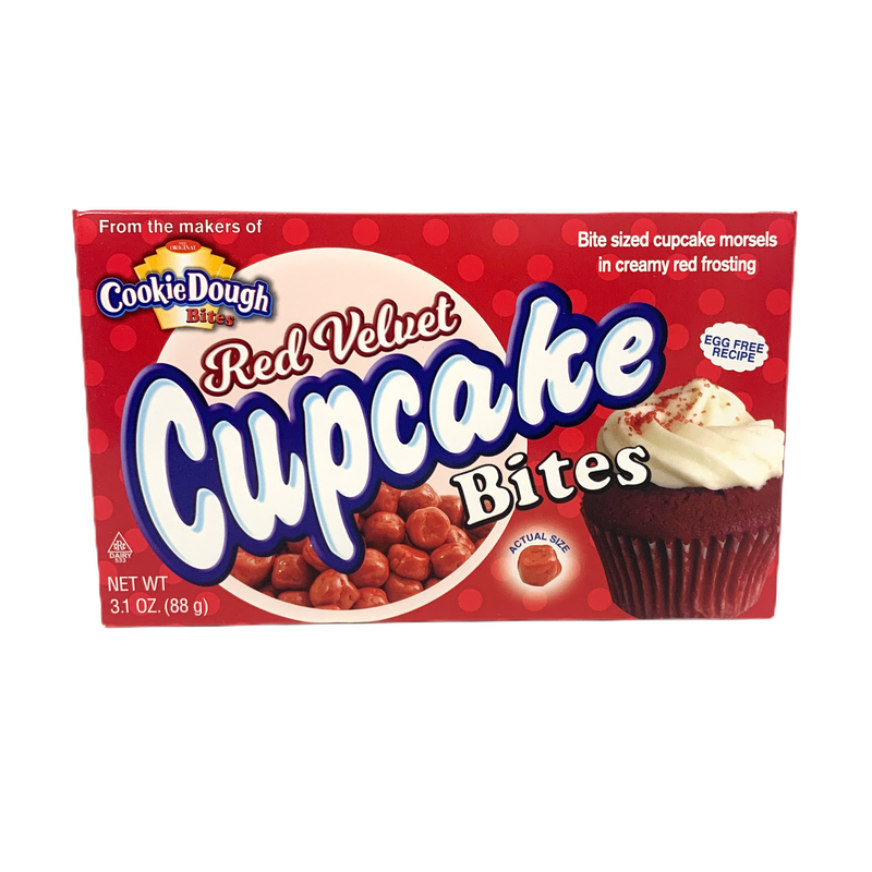 Cookie Dough Bites Red Velvet Cupcake 88g