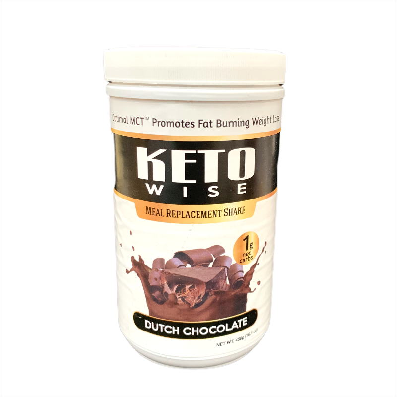 Keto Wise Dutch Chocolate Meal Replacement Shake 456g