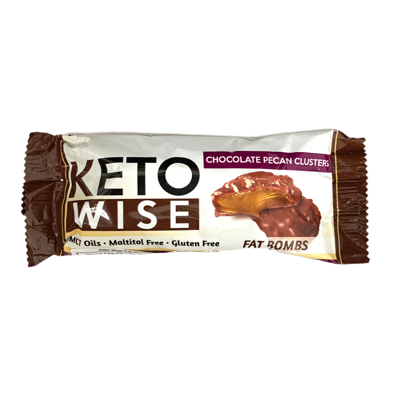 KETO WISE CHOCOLATE PECAN CLUSTER