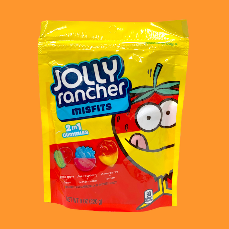 Jolly Rancher Misfits 2 in 1 Gummies 226g