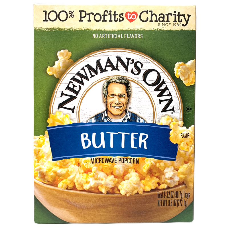 Newman's Own Butter Microwave Popcorn 272.1g