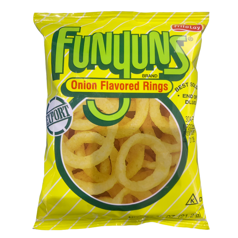 Frito Lay Funyuns Onion Flavoured Rings 21.2g