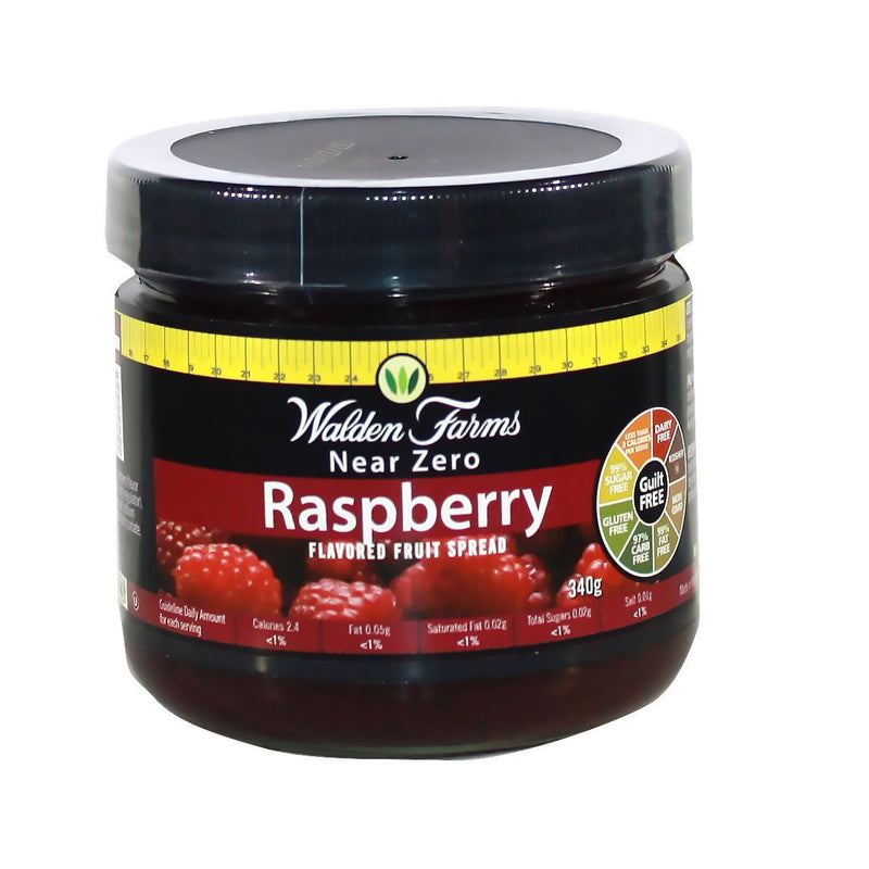 Walden Farms Low Calorie Raspberry  Fruit Spread 340g