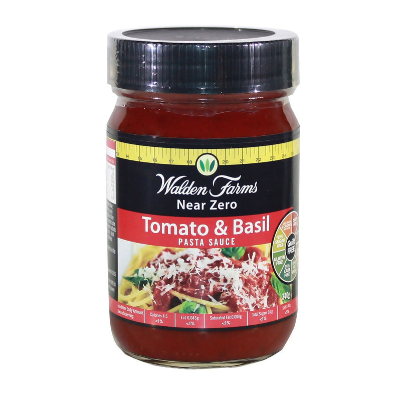 Walden Farms Low Calorie Tomato & Basil Pasta Sauce 340g