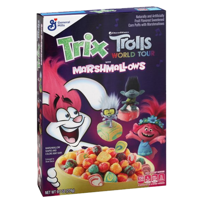 General Mills Troll Marshmallow Cereal 274g