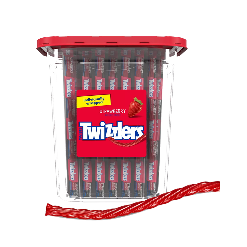 Twizzlers Strawberry Twist 779g-105ct Tub