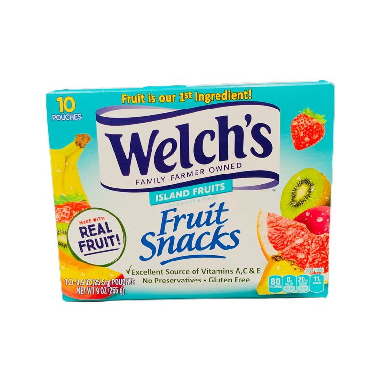 Welch's Island Fruits Fruit Snacks 255g