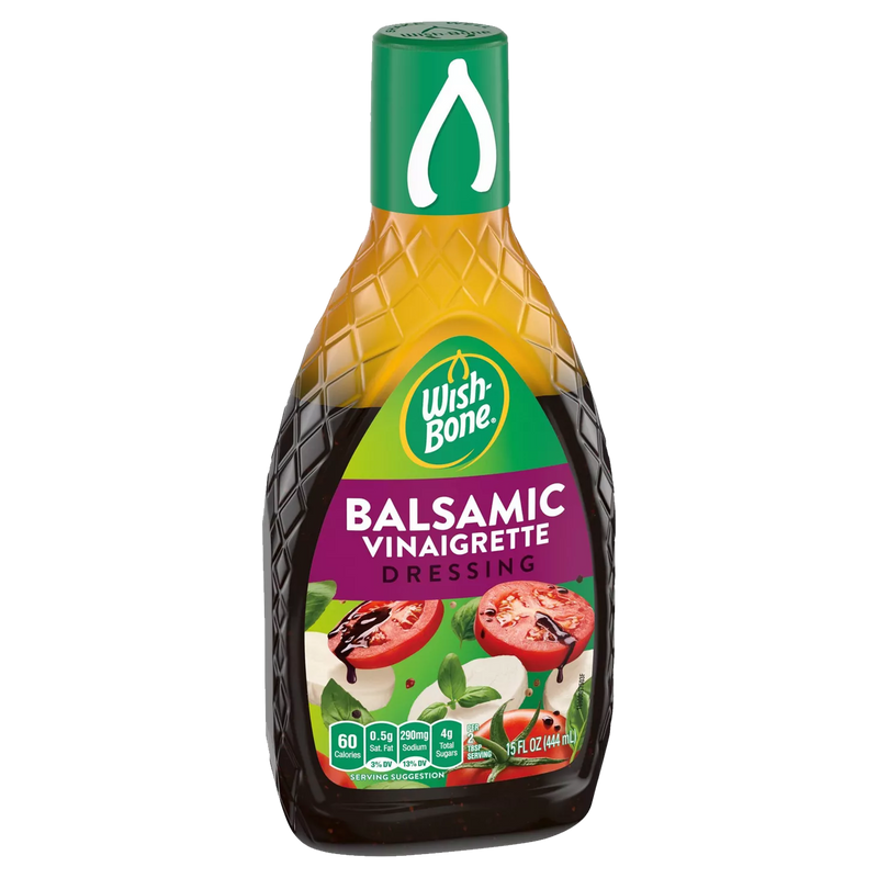 Wish Bone Balsamic Vinaigrette Dressing 444ml
