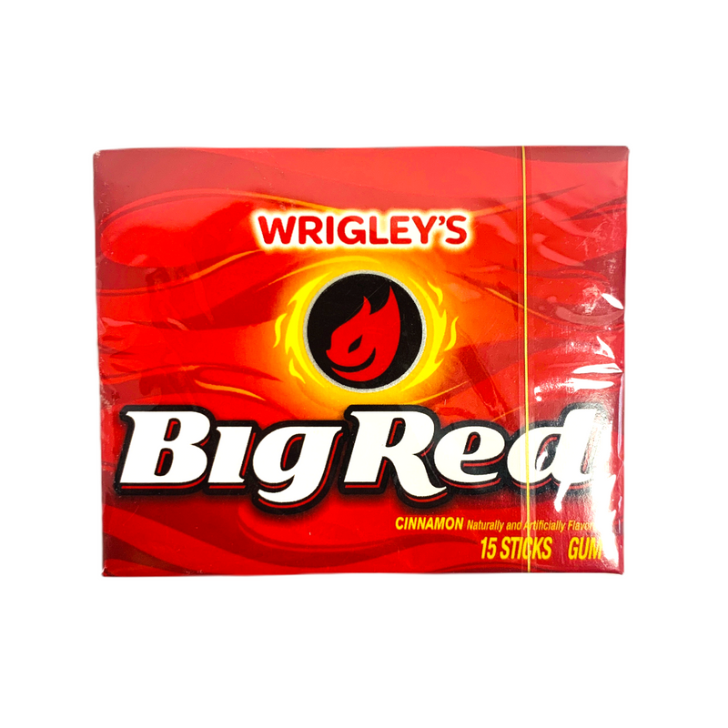 Wrigley's Big Red Slim Cinnamon Gum 15 Sticks