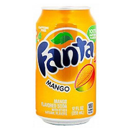 Fanta Mango Flavoured Soda 355ml