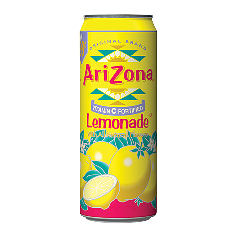 Arizona Lemonade with All Natural Flavour 680ml